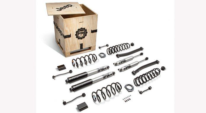 Kits de Elevación MOPAR para la Jeep Wrangler y Jeep Gladiator EcoDiesel