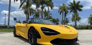 McLaren 720s Spider 2020 en Miami dos autos en uno y algo más