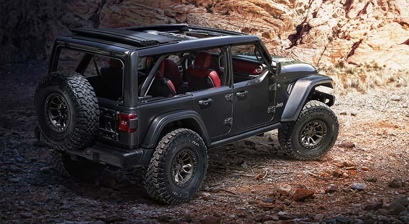 Jeep Wrangler Rubicon 392 Concept. Foto: Jeep.