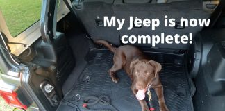 JoyTutus Cargo Mat Trunk Liner for Jeep Wrangler JL