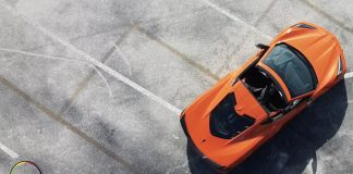 Chevrolet Corvette Stingray Coupe 2020 al detalle en Miami