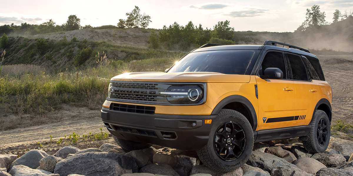 Bronco Sport 2021 First Edition