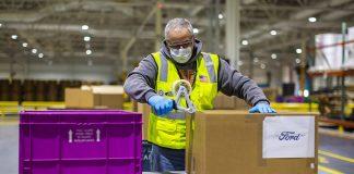 Ford announces goal to donante 100 million masks