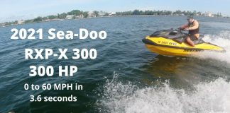 2021 Sea-Doo RXP-X 300, 1st. ride in Miami