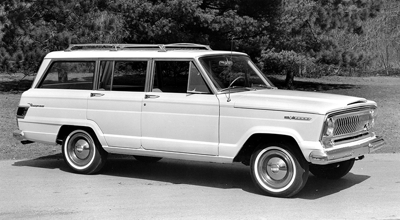 Jeep Wagoneer 1966. Foto: Jeep.