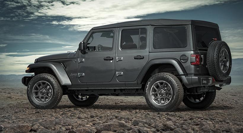 Jeep Wrangler 80th Anniversary Edition 2021 .