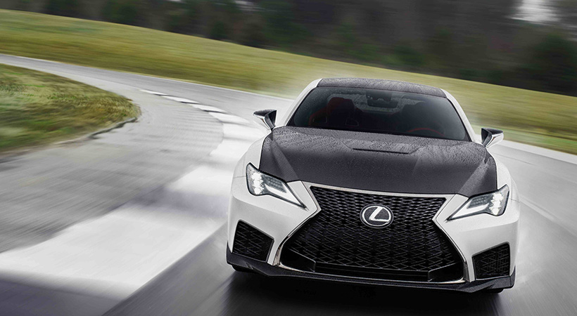 Lexus RC y RC Black Line Edición Especial de 2021