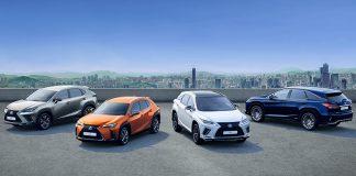 Lexus superó 5 millones de SUVs