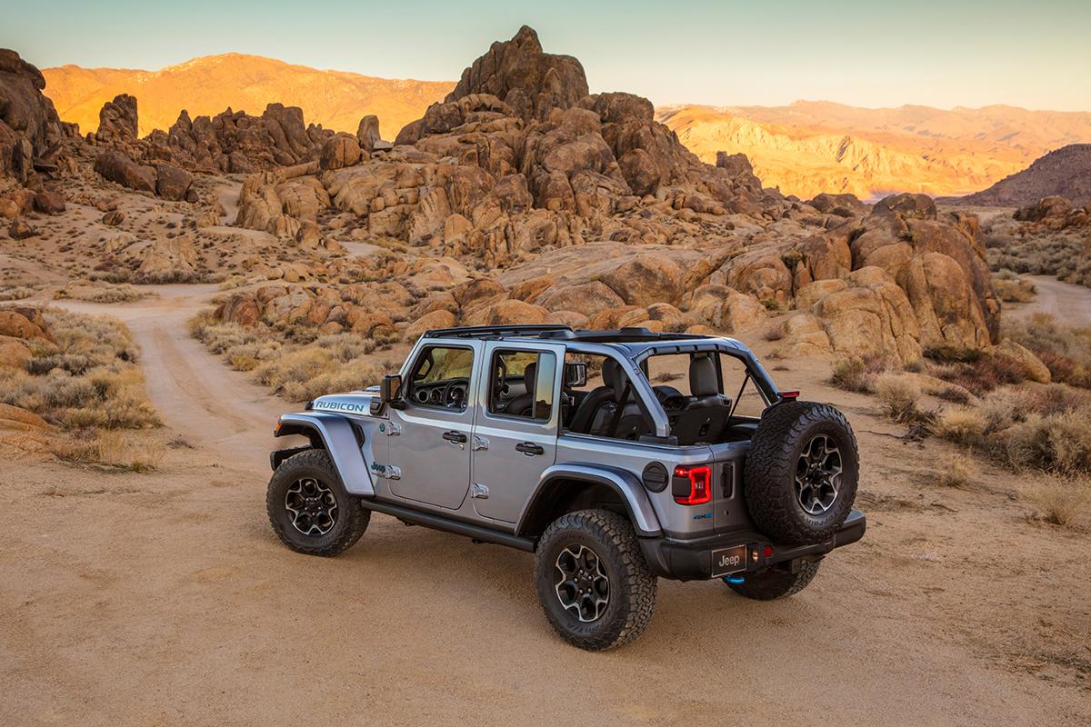 Jeep® Wrangler Rubicon 4xe 2021