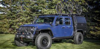 Jeep Gladiator Top Dog Concept; para los amantes de la bicicleta de montaña