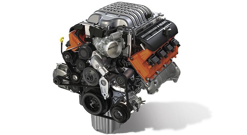 """Hellephant"" 426 Supercharged HEMI® V-8 engine (Part # P516"