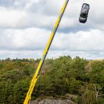 Volvo Cars Adrops new cars from 30 metres to help rescue services save lives