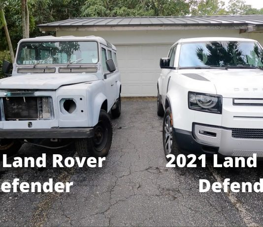 1984 Land Rover Defender vs 2021 Land Rover Defender