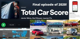 Total Car Score Podcast - The final show of 2020!