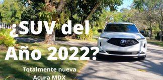 Acura MDX 2022; 1er vistazo a fondo en Miami