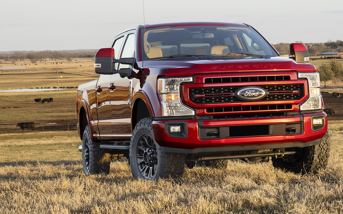 Ford Super Duty 2022