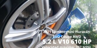 Lamborghini Huracán EVO Coupé RWD 2021 - Test Drive (no extremo) en Miami