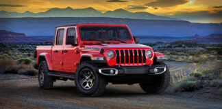 Jeep Gladiator Texas Trail 2021