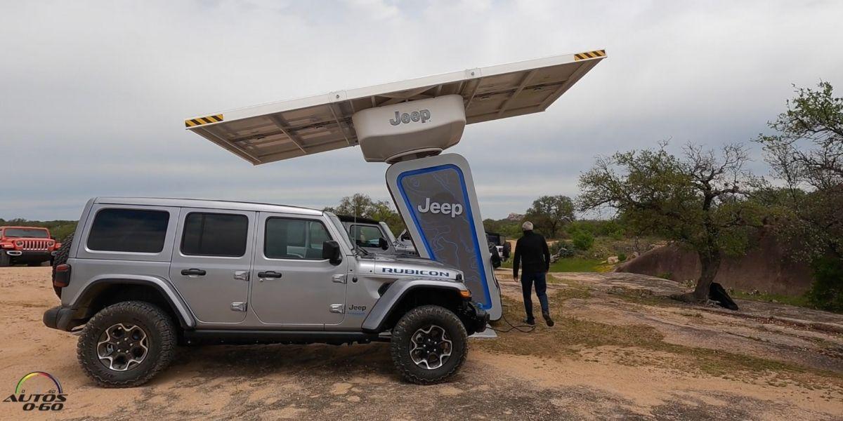 Test Drive Jeep Wrangler 4xe 2021