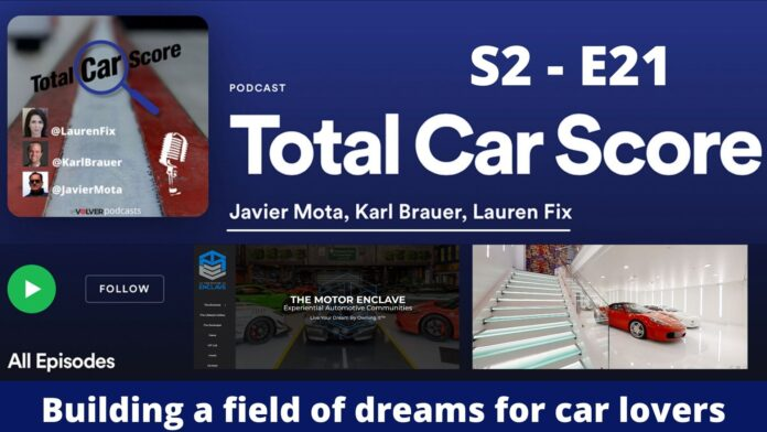 He is building a field of dreams for car lovers with The Motor Enclave