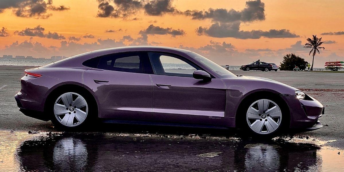 Test Drive Porsche Taycan Base 2021