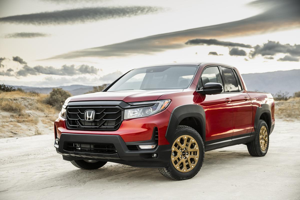 Honda Ridgeline Sport con HPD Package 2021