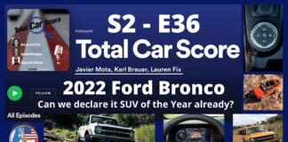 TCS SE-E36 - Can we already declare the Ford Bronco SUV of the Year?