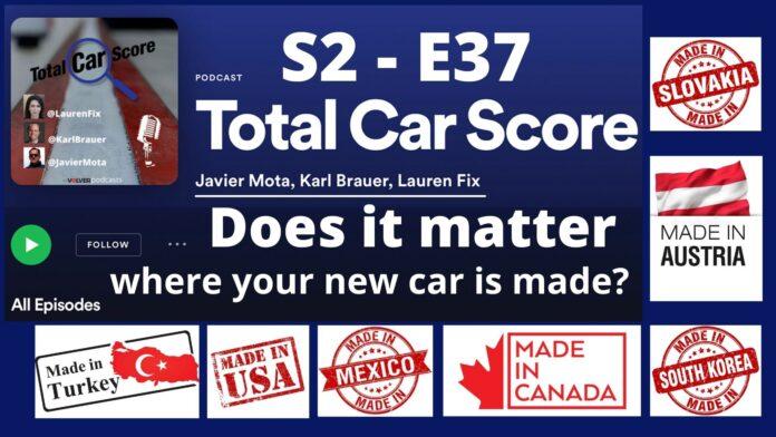 Total Car Score Podcast S2 -E37