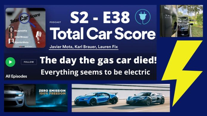 Total Car Score S2-E38 - All the news about the electrification of cars around the world