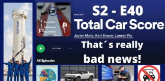 TCS SE - E40 - The most anoying news from the Automotive Industry ... this week