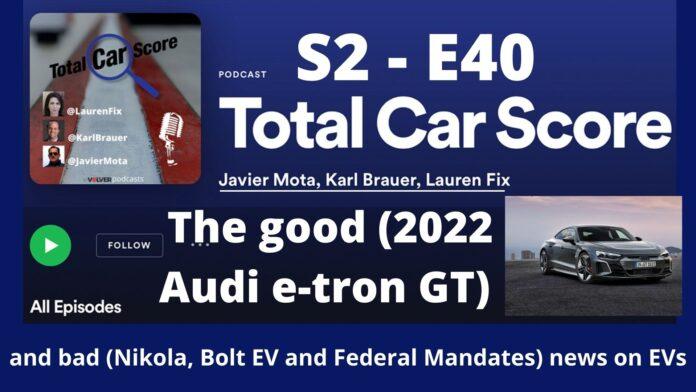 Total Car Score S2 - E41