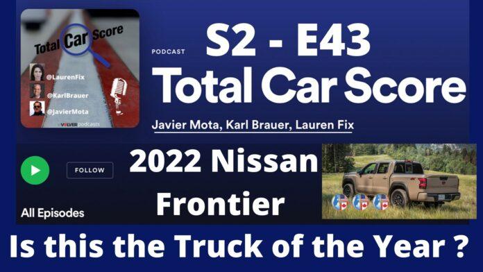 Total Car Score S2-E43 Nissan Frontier