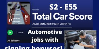TCS S2-E55 - Automotive Jobs are offering signing bonuses and a lot more!